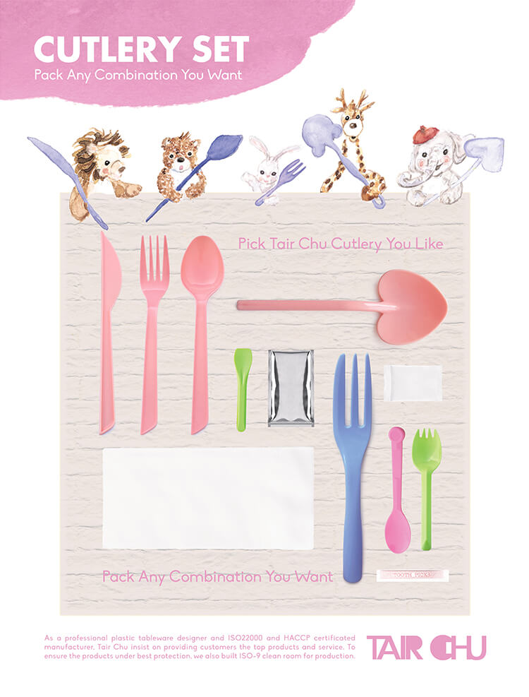 Plastic Cutlery Pack