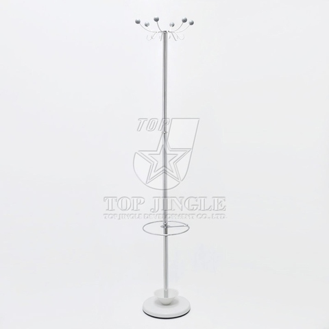 6 Hangers Valet Stand & Umbrella Holder