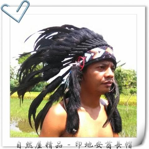 Taiwan Native American Feather Headdress Indian Headdress Warbonnet