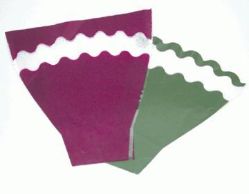 Taiwan plant sleeves, mylar, cellophane wrap, pot wrap,shrink bags