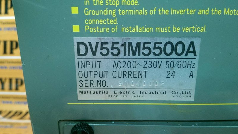 PANASONIC DV551M5500A INVERTER