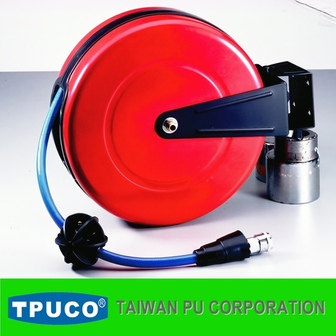 PU Air Hose Reel, Auto Air Hose Winder, Retractable Air Hose Reel, Air Hose Balancer