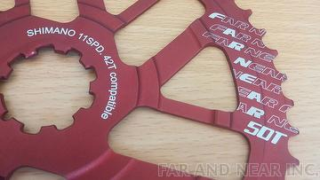 50T Extended Cogs
