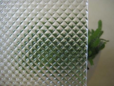 Taiwan GPPS diffuser sheet for LED light panel - Small Rhombus