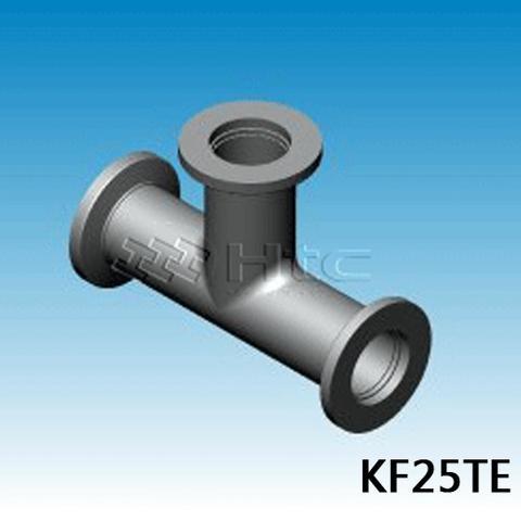 KF Tees-Three Way Tees-vacuum fittings-KF25TE