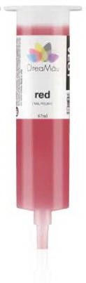 DreaMau Cartridge Nail polish color / Red - 67ml