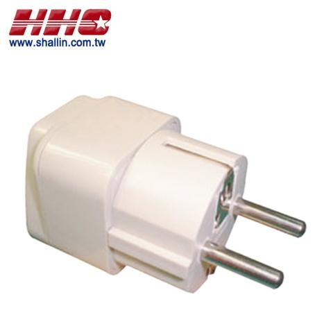Universal adapter W/approval, 250V 10A