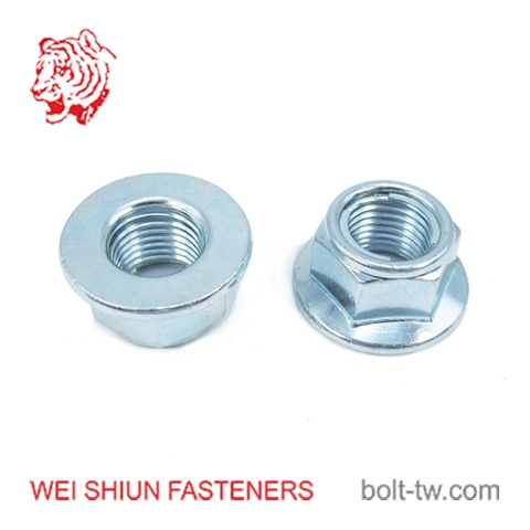 Taiwan M4 Zinc-Plated Steel Self-Locking Nut | Taiwantrade