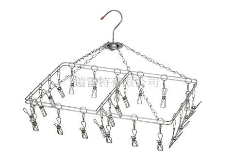 Taiwan Laundry stainless steel 18-8 clothespin, drying rack