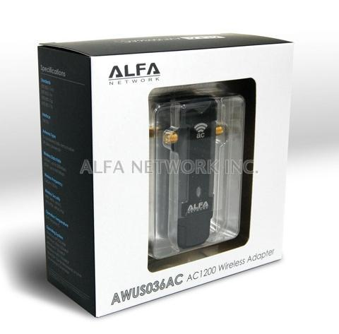 ALFA AWUS036AC : AC1200 USB Adapter