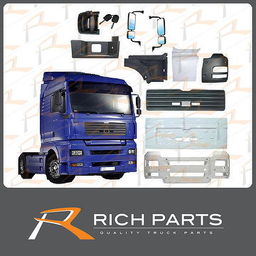 Heavy Duty Truck Parts Made in Taiwan