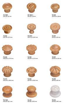 Taiwan Wood Product - Knob, Knobs, Wood knob, Cabinet Knob, Door ...