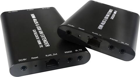 KVM Switch HDMI Extender Over Single Cat 5e/Cat