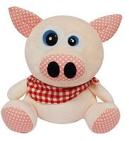 STUFF TOYS, SOFT FABRIC IN PIG DESIGN