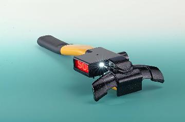 "Steering Wheel Lock with ALARM + HIGH POWER LED + ""SOS"" Calling Device"