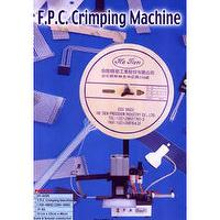 F.P.C. CRIMPING MACHING