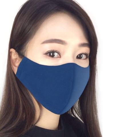 Fabric 3D Face Mask antimicrobial and water repellent