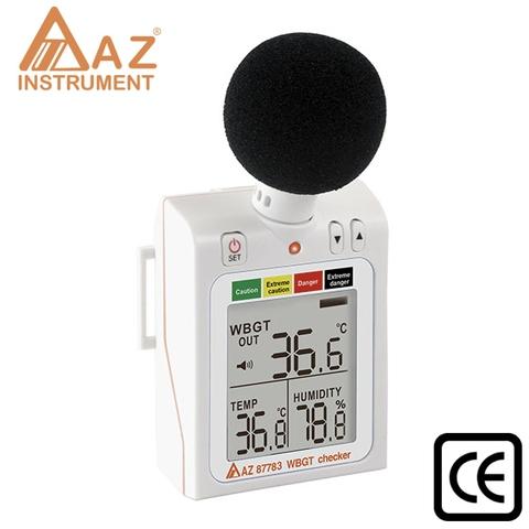 Wearable WBGT Meter, Temperature Data Logger