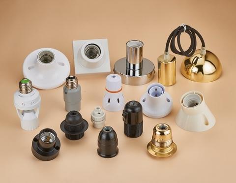 Lamp socket and base - European types