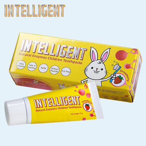 INTELLIGENT Children's Toothpaste Special Formula of Toothpaste for Baby and Toddler