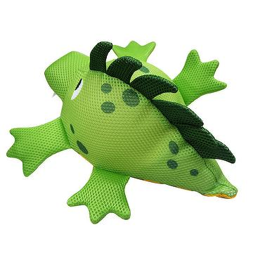 Mesh green crocodile