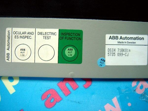 ABB TRACKBALL DSIH 71BK01* / DSIH 71BK01 / DSIH71BK01 5735099-CJ