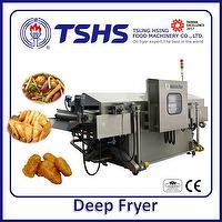 High Efficiency Energy Saving  Automatic Pellets Gas Fryer Machine