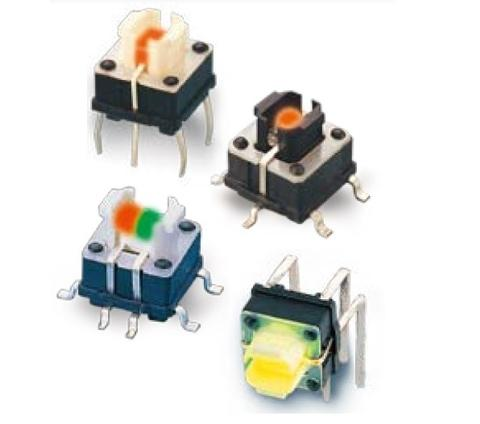 TP6151TRL SERIES ILLUMINATED TACT SWITCHES