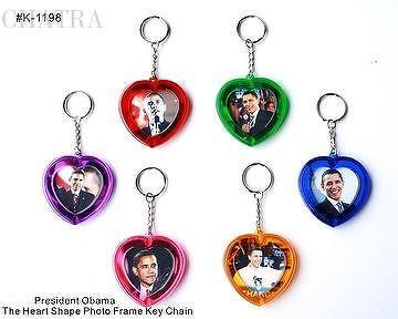 The Obama Photo Frame Key Chain