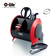 Desktop Pen Holder 2 Color Movable【O-Life】S-898
