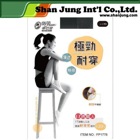 Pantyhose, Super Durable Sheer Sandal Toe Pantyhose