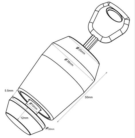 Disc Detainer Cylinder Lock