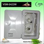External Shower Boxes, RV Shower Box, Caravan Shower Unit