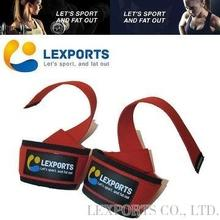 PRO Non-slip Padded Cotton Weight Lifting Straps