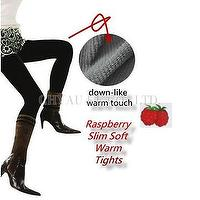 Warm Slim Raspberry Pantyhose