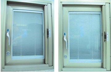 Energy-Saving Sound Insulation Window (Horizontal-PulledMultilayer inner Shutter Two-Tier Glass)