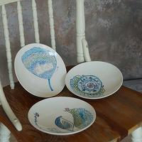 Hand-Painted Ceramic Ware, Hand-Painted Ceramic Plate