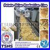 New Product Whole Automatic Industrial Potato Chips Equipment