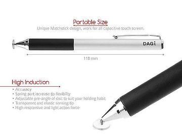 apple ipad pro air mini ipad iphone x 8 ipod touch transparent capacitive dagi stylus styli pen