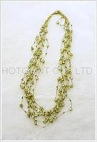 Color Cultured Pearl necklace