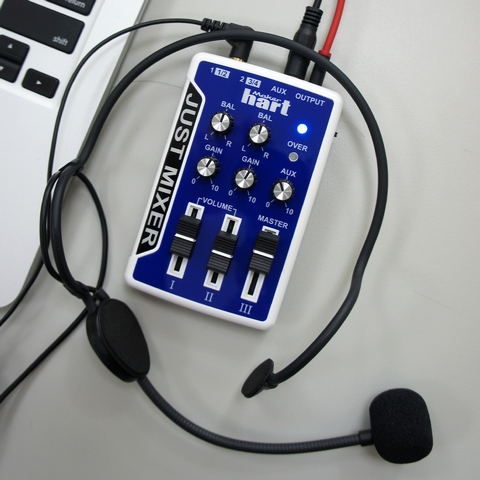 Maker hart Pocket Audio Mixer 3.5mm Stereo Sound Just Mixer