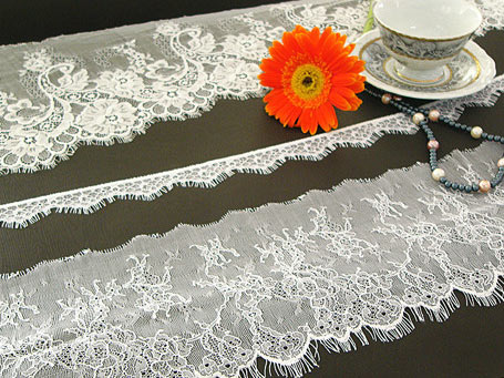 Raschel lace , apparel accessories lace,