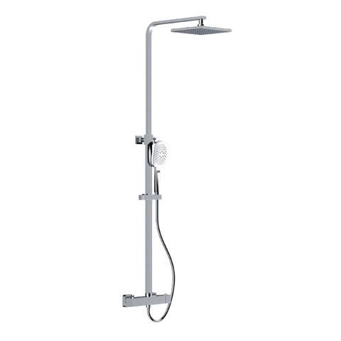 Trim - Wall-mount ceiling shower and hand shower