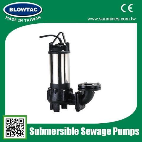 Submersible Cutter Sewage Pumps
