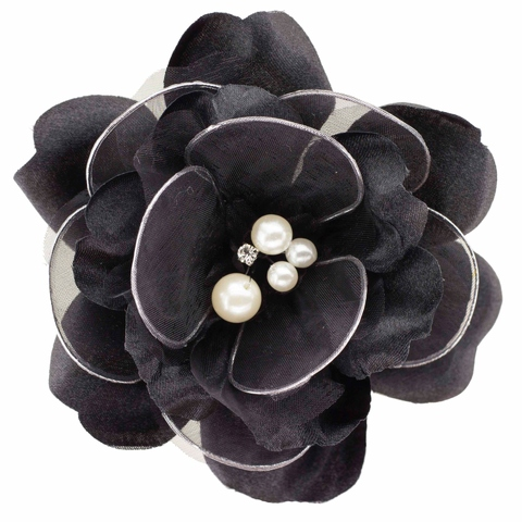 Handmade Flower For Hat with flexible wires for hat, apparel, bridal