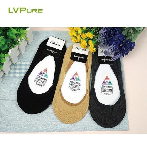 MIT Cotton non-slip flat socks 09