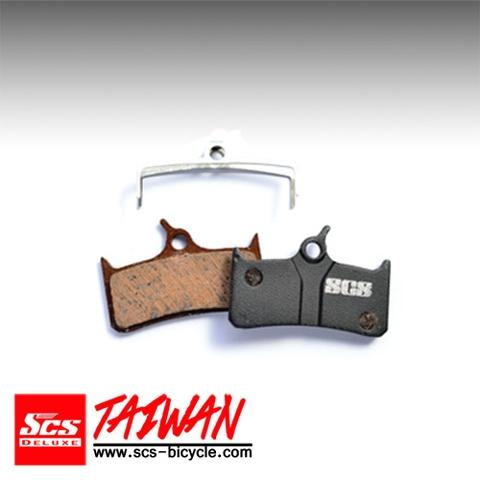 SCS Organic Disc Brake Pad for Shimano XT BR-M755【SDP-61S】