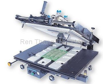 Semiautomatic Stencil Printer