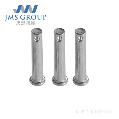 CNC自動化設備軸承零件/軸程固定銷,抉懋提供專業技術,來圖訂製,使用高精密CNC多軸複合機台加工車銑零件。