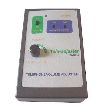 Tele-adjuster : Telephone Volume Adjuster